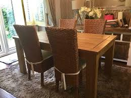 NEXT Solid Oak Wooden Extendable Dining Table And 4 Wicker Chairs | In  Langdon Hills, Essex | Gumtree Rattan Ding Chair Set Of 2 Mocka Nz Solid Wood Table Wicker Chairs Garden Table And Chairs 6 Seater Triple Plate Grey Granite Wicker Grosseto Cream Wood Round With 5 In Blandford Forum Dorset Gumtree Teak Driftwood Sunbrella Details About Louis Outdoor 7 Piece Acacia Stacking Shore Coastal Cushion Room Trends Ideas For 20 Hayneedle Sahara 10 Seat Top Kai Setting Sicillian Stone Half Rovicon Saltash Small Extending 4 Amari 1