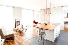 parquet de cuisine cuisine ouverte salon carrelage parquet beau salon parquet cuisine