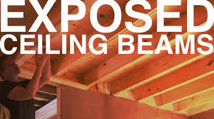 Insulated Cathedral Ceiling Panels by Exposed Ceiling Beams Day 98 The Garden Home Challenge With P