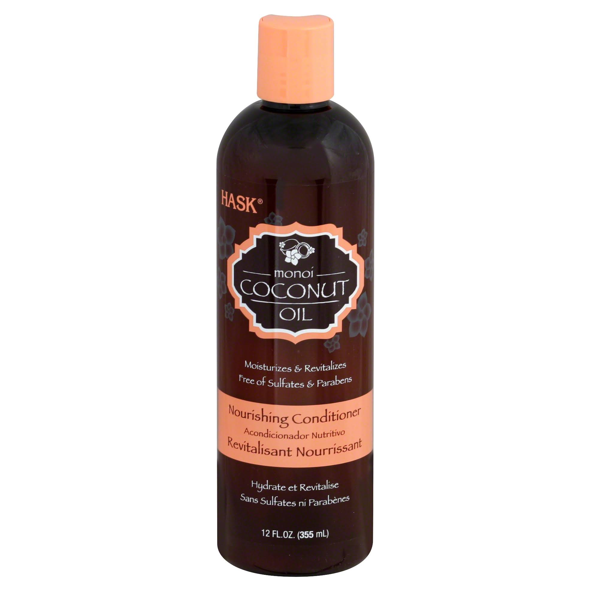 Hask Monoi Oil Nourishing Conditioner - 350ml