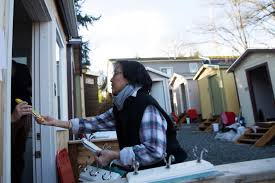 Tuff Shed Denver Jobs by Temporary Tiny House Community In Rino Could Help Shelter Some Of