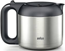 Braun BrewSense KF7175 Stainless Steel Drip Coffee Maker W Thermal Carafe