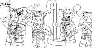 Snake Coloring Pages Team Colors Free Lego Ninjago Snakes