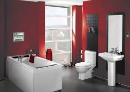 Brilliant Red Bathrooms Design Ideas That You'll Be Admired Of ... Red Bathroom Babys Room Bathroom Red Modern White Grey Bathrooms And 12 Accent Ideas To Fall In Love With Fantastic Design Floor Tub Small Master Bath Paint Pating Decor Design Orange County Los Angeles Real Blue Yellow Accsories Gray Kitchen And Inspiration Behr Style Classic Toilet Retro Dilemma Colors Or Wallpaper For Dianes Kitschy Interior Mesmerizing Fniturered