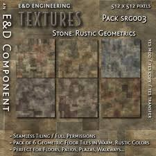 SRG003 6 Rustic Geometric Stone Textures Floor Tile From ED ENGINEERING