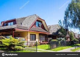100 Houses In Chile An Houses In Valdivia Stock Photo Wastesoul 163911702
