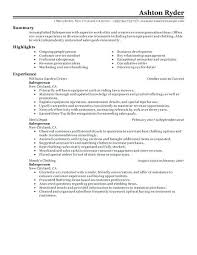 Retail Resume Examples Salesperson Example Classic 2 2015 Home Improvement