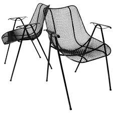 Set Of Six Mid-Century Modern Sculptura Outdoor Dining Chairs By Russell  Woodard Cult Living Ladbroke Outdoor Ding Armchair Black Polywood Tek Memoir Chair Rjid Midcentury Modern Steel Patio Set Summer Classics Skye Side White Leather Chairs Contemporary Script 5piece Metal With Slatted Faux Wood And Stackable Modway On Sale Eei2259slvblk Shore Alinum Only Only 16930 At Fniture Warehouse Polywood Bayline Satin Allweather Plasticsling Arm In Poolside Shell Shell Collection Fueradentro Design Wicker