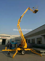 100 Truck Mounted Boom Lift Ce Iso 820m 200kg Trailer Towable For Sale Trailer For Person Aerial Working Platform Buy Towable