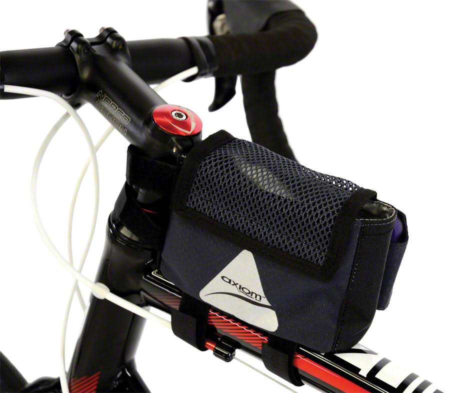 Axiom Smart Top Tube Bag - Grey and Black