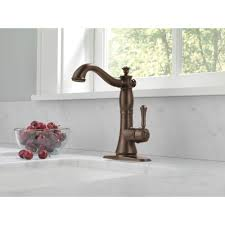Delta Faucets Cassidy Line by Delta Faucet 1997lf Rb Cassidy Venetian Bronze One Handle Bar