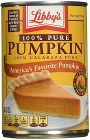 Libby Pumpkin Pie Recipe On Label by Amazon Com Libby U0027s 100 Pure Pumpkin 15oz Can Pack Of 6