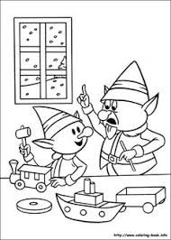 Rudolph The Red Nosed Reindeer Coloring Picture