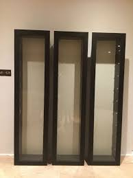 DecorationIn Wall Display Cabinet Glass Cases For Collectibles Wood And Case
