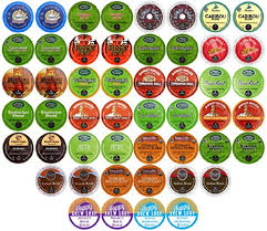 50 Count TOP BRAND COFFEE K Cup Variety