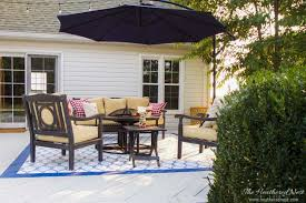 Inexpensive Patio Cover Ideas by Deck U0026 Cover Backyard Deck Ideas U0026 Our Deck Makeover Reveal