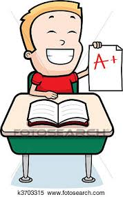 Clipart of Boy Student k Search Clip Art Illustration