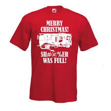Merry Christmas Shi Er Was Camiseta Completa Vacaciones Humor Todos Los Tamaños Colores Hombres 2018 Marca De Moda Camiseta Con Cuello O 100