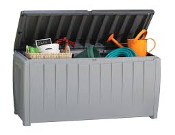 Keter Woodland Storage Box by Outdoor Storage Archives Review Crossing