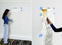 Paint The Walls 21 Creative Ideas Wall Templates Including