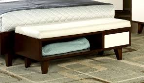 bedroom amazing storage bench also with a white seat regarding
