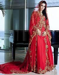 charming dubai red muslim dress gold applliuqes evening dresses