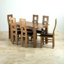 Oak Dining Table And Chairs Sale Second Hand Dinning Room Solid Wood Furniture For