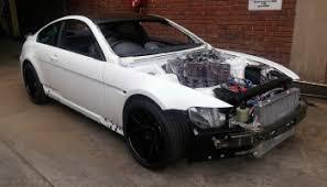 bmw m6 with a six rotor engine engine swap depot