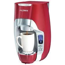 Red Keurig Coffee Maker Pink