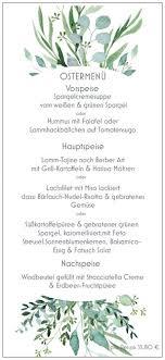 ostermenü 2019 esszimmer restaurant café