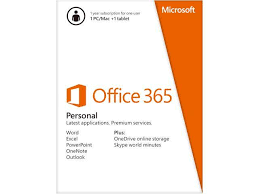 Microsoft fice 365 Personal for 1 PC Mac 1 Tablet 1 Year