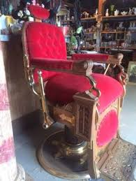 Koken Barber Chairs St Louis by Beautiful Vintage Koken Barber Chair Chrome With Black Leather