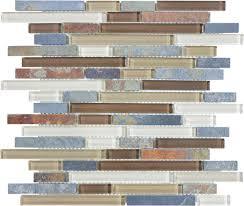 wall tile florida tile pietra bliss smokey mica mosaic 12 x