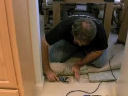 carpet to tile transition tutorial