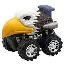 100 Dinosaur Monster Truck Animal Children Gift Toy Model Mini Toy Car Gift Pull Back