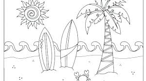 Free Printable Summer Coloring Pages Kids Colouring Of Flowers Col
