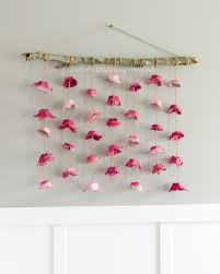 DIY Flower Wall Hanging Craft Idea The Flowers Are Made From Egg Cartons So