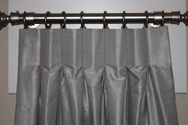 Curtains For Traverse Rods by How Hang Pinch Pleated Curtains