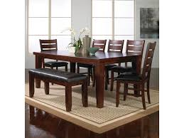 Bardstown 7 Piece Dining Table Set W/ 5 Chairs & 1 Bench By Crown Mark At  Dunk & Bright Furniture Hever Ding Table With 5 Chairs Bench Chelsea 5piece Round Package Aqua Drewing And Chair Set By Benchcraft Ashley At Royal Fniture Trudell Upholstered Side Signature Design Dunk Bright Lawson Piece Includes 4 Liberty Darvin Barzini Black Leatherette Coaster Value City Pc Kitchen Set A In Buttermilk Cherry East West The District Leaf Intercon Wayside Grindleburg Vesper Round Marble Ding Table Piece Set Brnan Amazoncom Tangkula Pcs Modern Tempered
