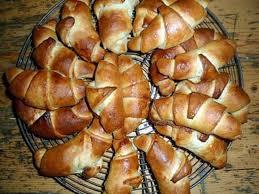 recette cuisine gourmande recette de croissants briochés de la cuisine gourmande de