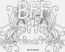 Perfect Bff Coloring Pages 44 About Remodel Free Kids With