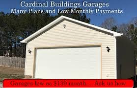 Storage Sheds Leland Nc by Cardinal Buildings Custom Garages Storage Sheds Carports