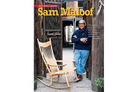 Sam Maloof Rocking Chair Video by Sam Maloof Wood Magazine