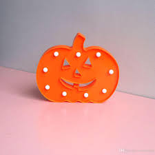 Battery Operated Lava Lamps Australia by Plastic Pumpkin Marquee Sign Led Night Lights For Halloween