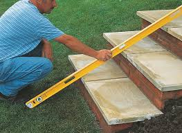 how to lay a garden patio how to build garden steps ideas advice diy at b q