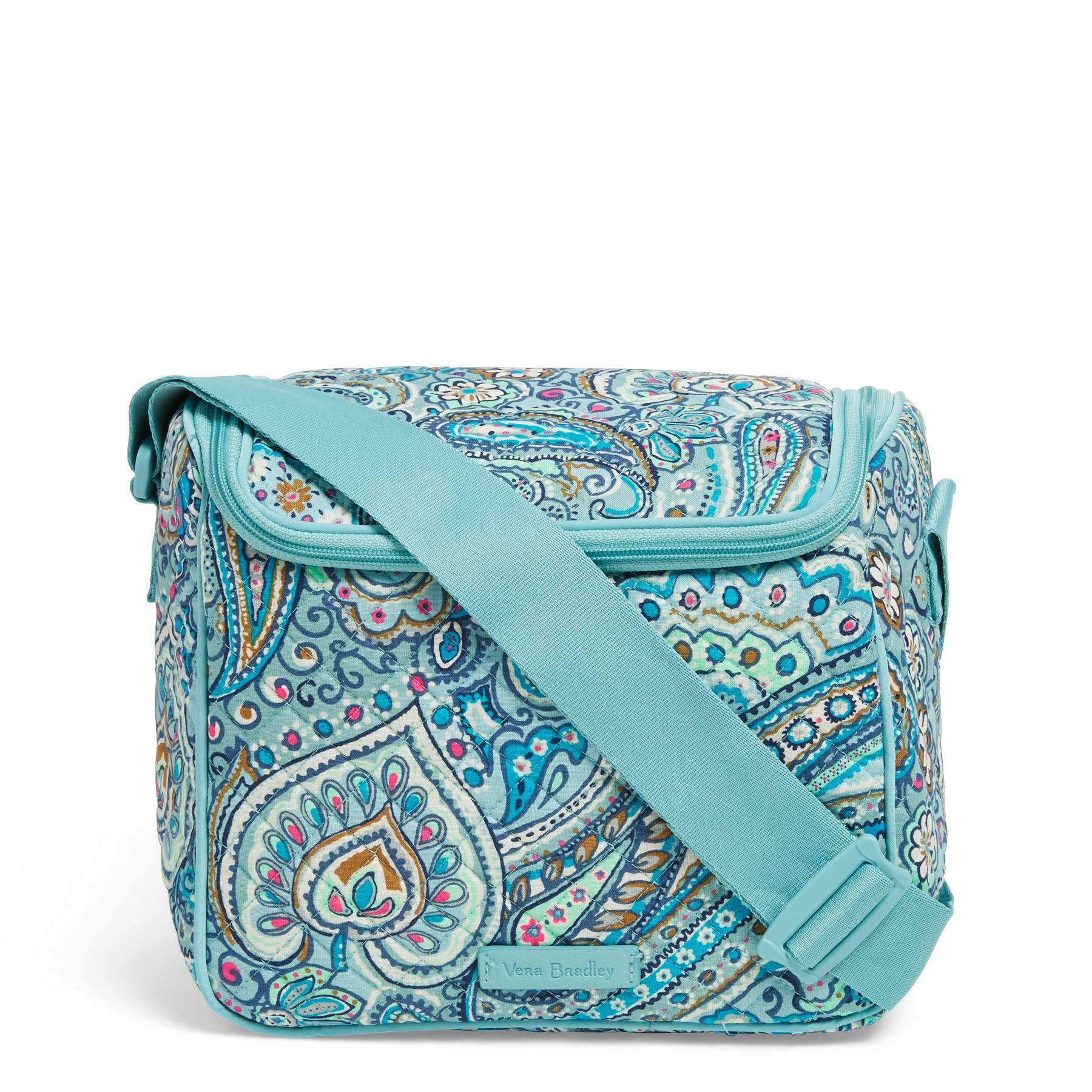 Vera Bradley Iconic Stay Cooler Lunch Bag, Blue