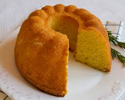 Rustic Semolina Lemon Rosemary Cake Italian Food Forever