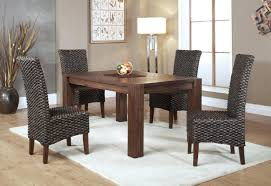 Marq 5 Piece Dining Set In Brick Brown With Wicker Chairs By Mfix ... Teak Hardwood Ash Wicker Ding Side Chair 2pk Naples Beautiful Room Table Wglass Model N24 By Rattan Kitchen Youtube Pacific Rectangular Outdoor Patio With 6 Armless 56 Indoor Set Looks Like 30 Ikea Fniture Sicillian 8 Seater Square Stone And Chairs In Half 100 Handmade Tablein Garden Sets Burridge 4ft Round In Antique White Oak World New Ideas Awesome Unique Black