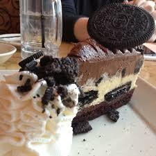 Oreo Cheesecake at The Cheesecake Factory