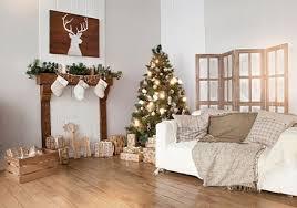 weihnachtlich dekorieren im wohnzimmer